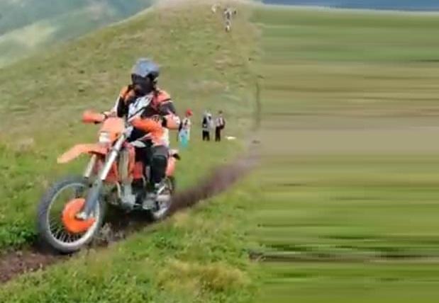 Незаконно изкачване на връх Миджур с мотори